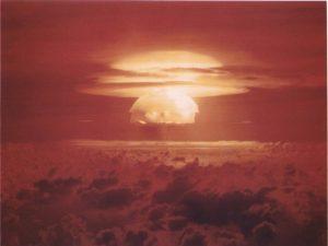 explosion bombe